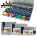 문화 수채색연필 12색 24색 36색 48색 (틴케이스)