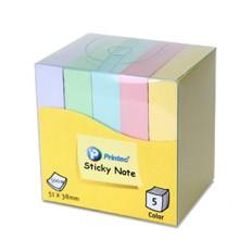 혼합 스티키 노트 실속형 (5pad)