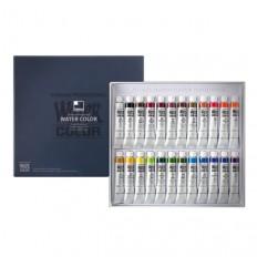 전문가용 수채화물감 24색 세트(7.5ml*24컬러)