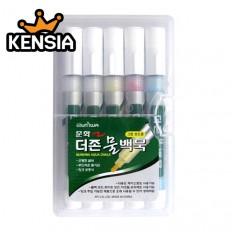 더존 물백묵 5개세트(4색세트)/물분필